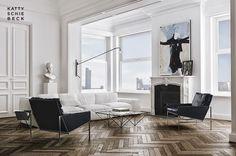 Sitting Room. The Design Chaser: Homes to Inspire | Katty Schiebeck's Passeig de Gràcia