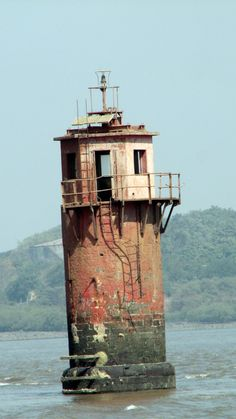 Old Abandoned Lighthouse, Mumbai, Maharashtra, India- by shikhmanter