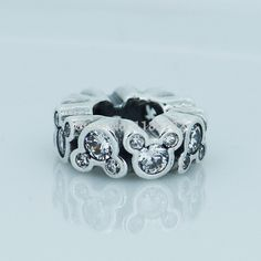 Compatible With Pandora Bracelets Sparkling Mickey Beads Icon