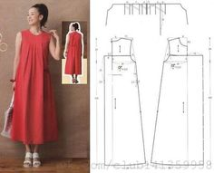 Amazing Sewing Patterns Clone Your Clothes Ideas. Enchanting Sewing Patterns Clone Your Clothes Ideas. Sewing Dress, Dress Sewing Patterns, Sewing Patterns Free, Free Sewing, Sewing Clothes, Clothing Patterns, Diy Clothes, Fashion Sewing, Diy Fashion