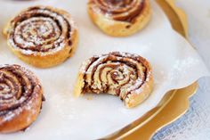 Supersnelle chocolade rolls