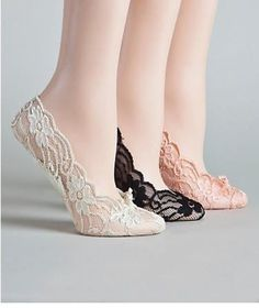 Adorable lace #socks