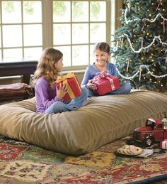 Big Pillows To Sit On The Floor : Need a big pillow for the playroom for the kids to sit on while they watch TV. Wish there was a ...