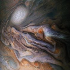 Storm brewing - 50 gorgeous photos of outer space - CBS News Jupiter Facts, Nasa Juno, Juno Spacecraft, Brightest Planet, Saturns Moons, Space Probe, Gas Giant, Dwarf Planet, Star Formation