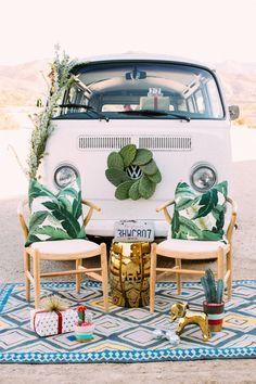 VW Van Happy Hour // so fun