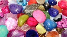 Some crystals are water soluble, they should not be immersed in water or other liquids; other are soft and easily damaged & affected by the sun's rays. Love Wallpaper, Blue Moon, Crystal Healing, Painted Rocks, Easter Eggs, Crystals, Stones, Rock Painting, Spirituality