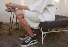 Best Sneakers Fashion Part 15 Best Sneakers, Sneakers Fashion, Skirt Fashion, Fashion Outfits, Womens Fashion, Baskets, Skirts With Boots, Vogue, Ootd