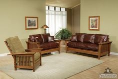 leather Sofa Loveseat Trend Manor living
