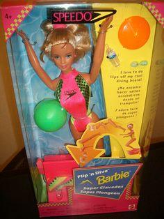 BARBIE FLIP N DIVE 1998