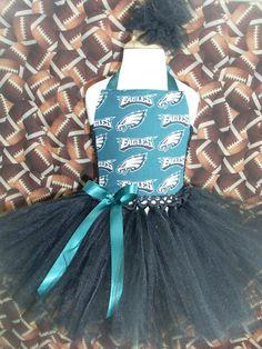 Philadelphia Eagles Tutu Dress by 4EverTuTu on Etsy, $31.99