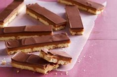 Chocolate-Caramel Cookie Bars recipe