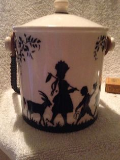 Erphila-Art-Pottery-Czechoslovakia-Biscuit-Barrel
