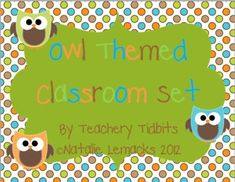 This 120 page classroom set includes:*Attendance Board: headers, student owls, and transportation options*Desktags: 4 different color optio...