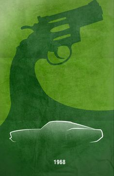 Movie Car Racing Posters - Bullitt by Boomerjinks.deviantart.com on @DeviantArt
