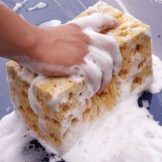 Big Size Car wash Sponges for Car washer and cleaning Sponges for home kitchen cleaning 21*11*9