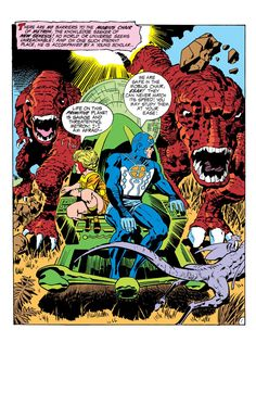 The powers of Metron's Mobius Chair in The New Gods created, written, and illustrated by Jack Kirby August Comic Book Pages, Comic Book Artists, Comic Book Covers, Comic Book Heroes, Comic Artist, Comic Books Art, Art Haus, Jack Kirby Art, Fourth World