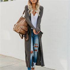 Spring Fashion Casual, Autumn Winter Fashion, Autumn Casual, Mode Outfits, Fashion Outfits, Womens Fashion, Women Fashion Casual, Women Casual Outfits, Cardigan Style