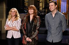 Reese Witherspoon and Florence Welch on SNL