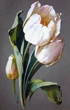 Oil painting Flowers art easy canvas paintings for beginners peony artwork the flower art blank gridded adhesive canvas for diamond painting Tulip Painting, Easy Canvas Painting, Oil Painting Flowers, Watercolor Flowers, Watercolor Paintings, Canvas Art, Canvas Paintings, Flower Paintings, Watercolor Artists