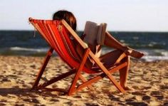 call me a nerd but I'm totally reading on the beach this summer