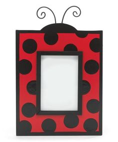 Look what I found on #zulily! Red & Black Ladybug Picture Frame #zulilyfinds
