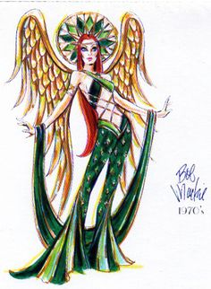 Bob Mackie 1970's Glamour Angel (2002)