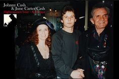 Edward met June Carter and Johnny Cash in front of Hilton Hotel in Rotterdam, The Netherlands April 20,1992