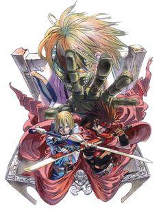 Ky & Sol Illustration