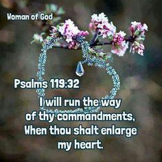 Psalm 119:32 KJV
