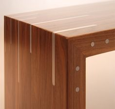 signature of quality in its joinery #Details