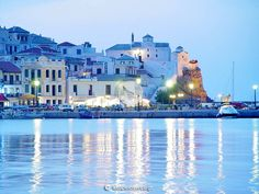Skopelos, Greece is my grandfather's birthplace. I have visited once and hope to visit again. Cruise Vacation, Vacation Destinations, Dream Vacations, Skopelos Greece, Fun Places To Go, Senior Trip, Greece Islands, Cool Pictures, Beautiful Places