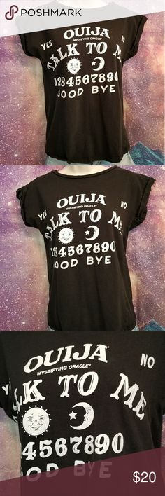 Ouija Board Shirt Bought from Hot Topic size Small Hot Topic Tops Tees - Short Sleeve