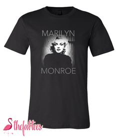 Marilyn Monroe T-Shirt Marilyn Monroe T Shirts, Girls, Mens Tops, Design, Style, Fashion, Toddler Girls, Swag, Moda
