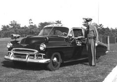 1949 Chevy Long Island State Police car