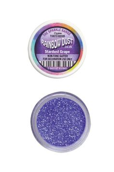 Rainbow Dust Sparkle Non-Toxic Cake Glitter - Stardust Full Set of 5 * New and awesome product awaits you, Read it now : : baking decorations