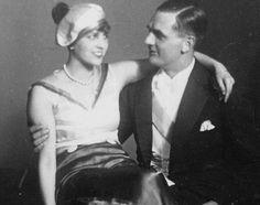 Taro and Pieter Bote, Stuttgart. 1928