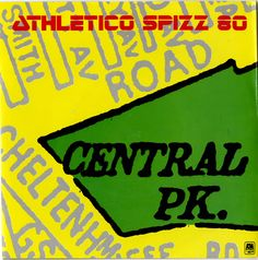 """For Sale - Spizz Central Park UK  7"""" vinyl single (7 inch record) - See this and 250,000 other rare & vintage vinyl records, singles, LPs & CDs at http://eil.com"""
