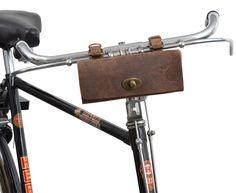 Leather Bicycle Bag, tool bag 'Miles' £10.50