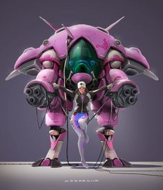 New Overwatch Concept Art Artworks Ideas Overwatch Drawings, Overwatch Fan Art, Overwatch Hero Concepts, Game Character, Character Design, Guan Yu, Overwatch Wallpapers, Cyberpunk Girl, Arte Robot