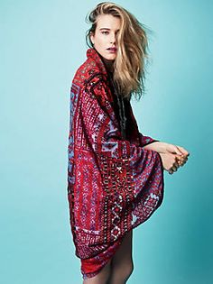 Free People Travelled History Statement Kimono, $168.00
