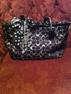 ff5a8b40ade1 My favorite Coach purse ever! I paid a total of  119 for both the purse and  scarf at the Coach Factory Store located within the Cincinnati Premium  Outlets.