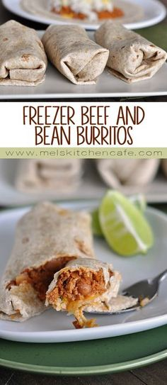 Beef and Bean Burritos These freezer beef and bean burritos are a great staple to have in the freezer for hectic dinner nights.These freezer beef and bean burritos are a great staple to have in the freezer for hectic dinner nights. Make Ahead Freezer Meals, Freezer Cooking, Quick Meals, Freezer Dinner, Microwave Freezer Meals, Weeknight Meals, Freezer Burritos, Bean Burritos, Ground Beef Burritos