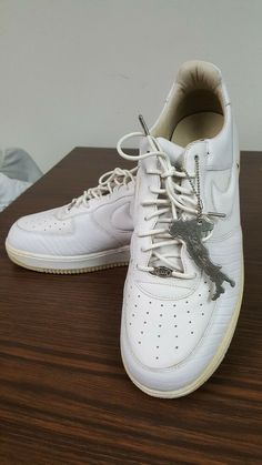 buy popular 94e39 f297e Rare 2004 Nike Air Force One 1 Lux White Wheat Bottom -Size 10 Made in