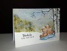 Penny Black Cards, Pretty Cards, Beautiful Paintings, Card Making, Scrap, Thankful, Photography, Friendship, Goodies