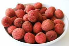Fresh Lychees - I HEART these ....