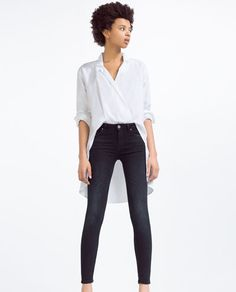 Image 1 of SOFT SUPER SKINNY JEANS from Zara