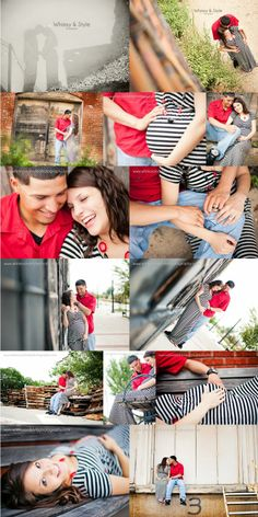 Oh baby! Gritty urban downtown bryan   maternity photos