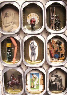Image result for sardine tin assemblage