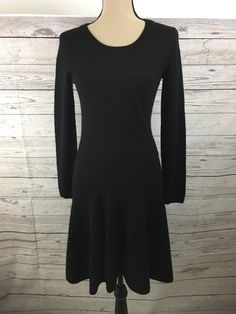 Nice Great Joie Black Talissa Sweater Dress Size M Long Sleeve Wool Cashmere Blend NWT 2017-2018 Check more at http://24myshop.tk/my-desires/great-joie-black-talissa-sweater-dress-size-m-long-sleeve-wool-cashmere-blend-nwt-2017-2018/