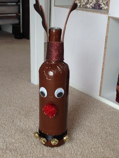 wine bottle Rudolph